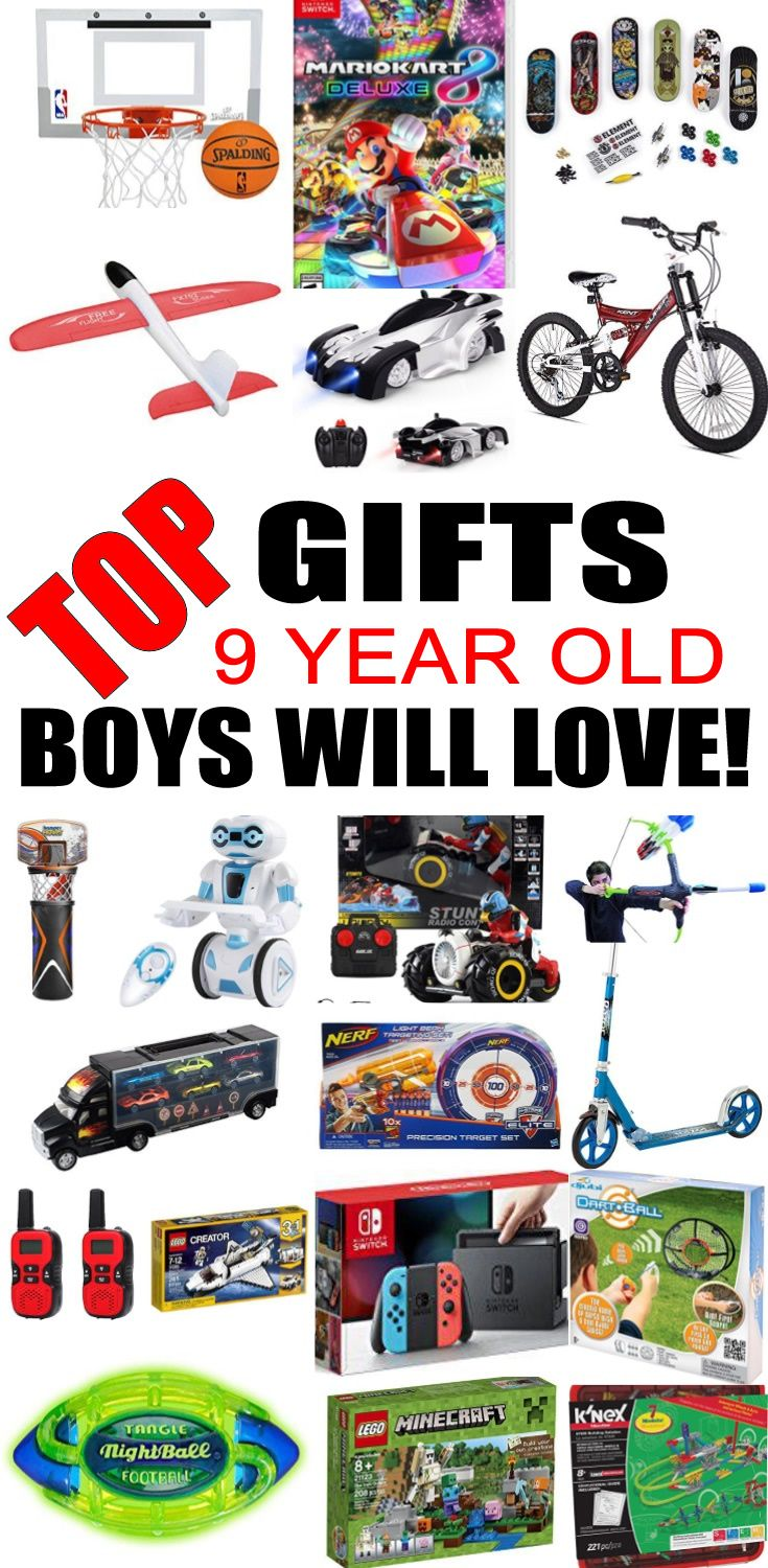 Best Gifts 9 Year Old Boys Will Love Top Kids Birthday Party Ideas Christmas
