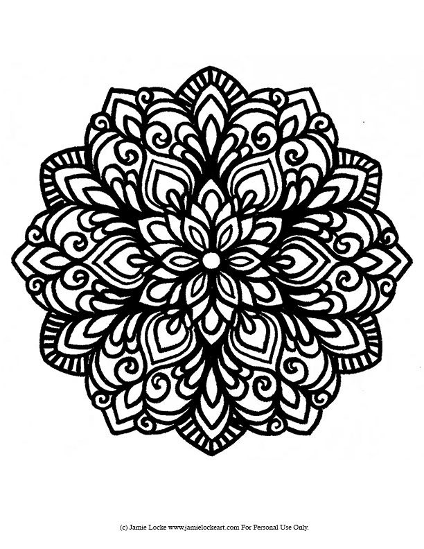Mandala Monday | Jamie Locke Art