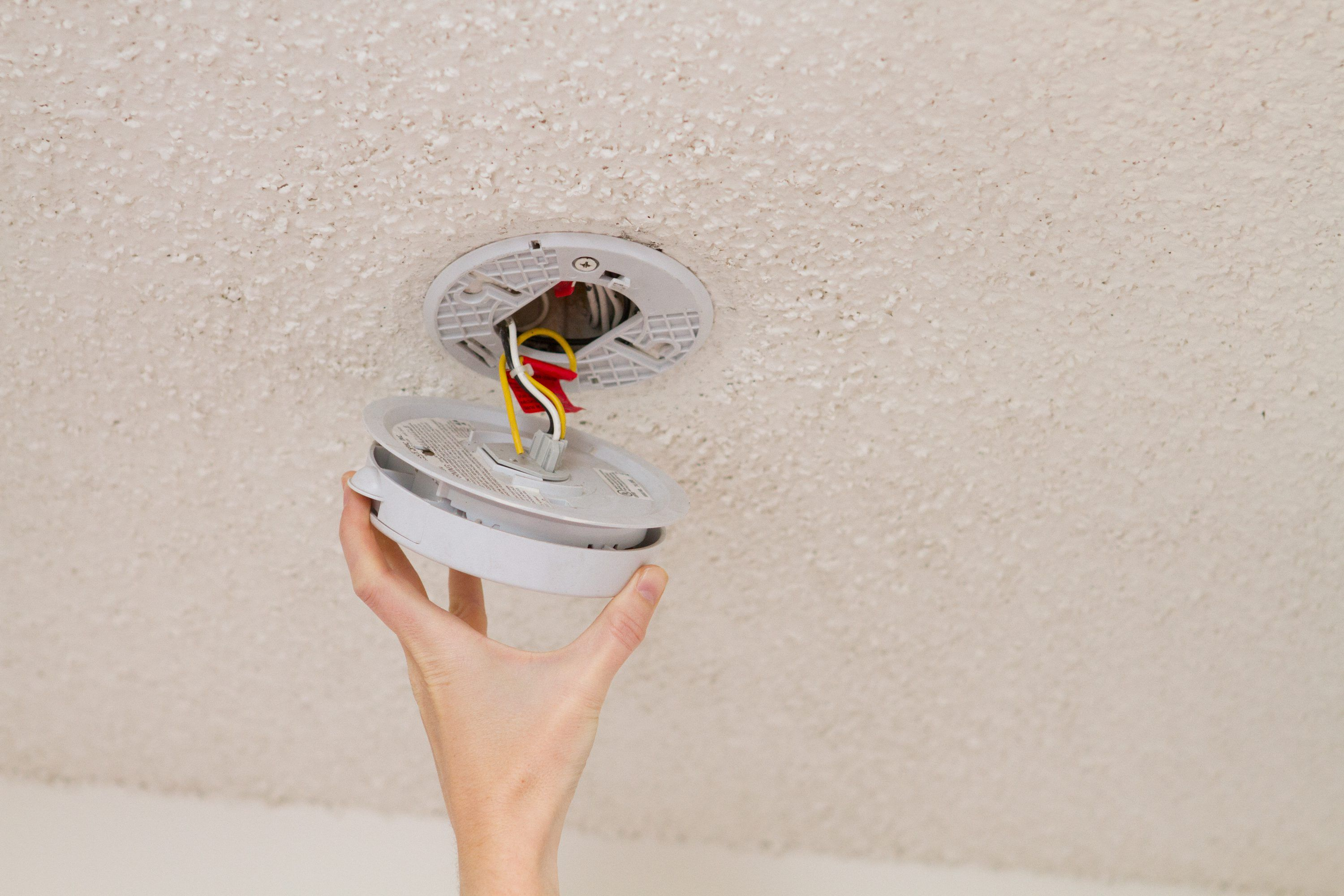 How To Replace Hardwired Smoke Detectors Smoke Detectors Smoke
