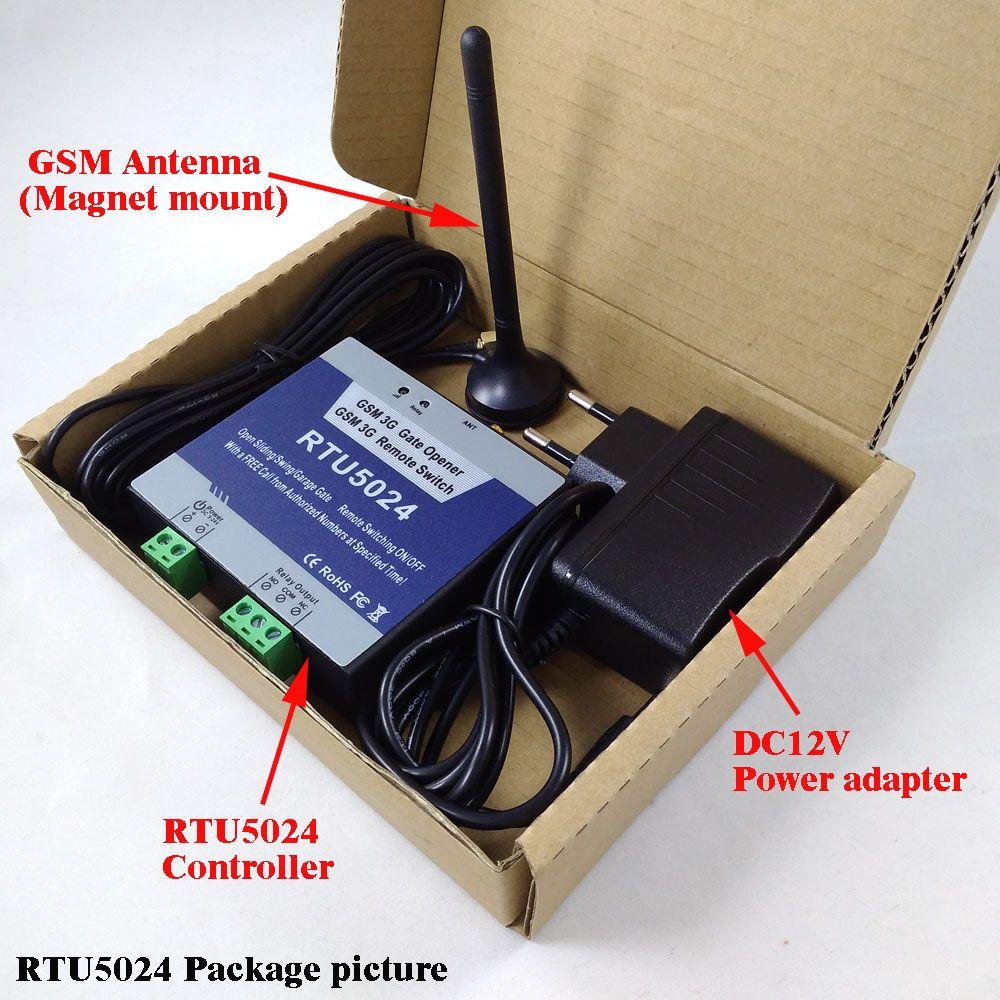 RTU5024 GSM Automatische Schaukel Schiebe Toröffner