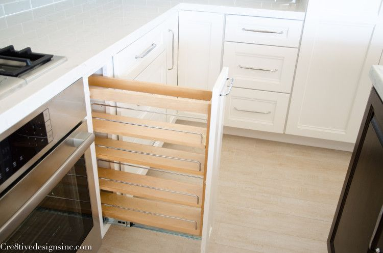 Lowes Spice Rack Magnificent Spice Rack Pull Out  Monroe Kitchen  Pinterest  White Cabinets Design Ideas
