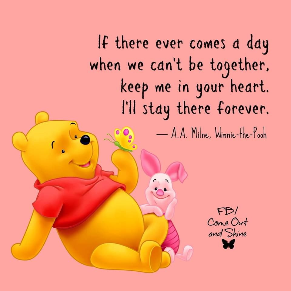 If There Ever Comes A Day That We Can T Be Together Keep Me In