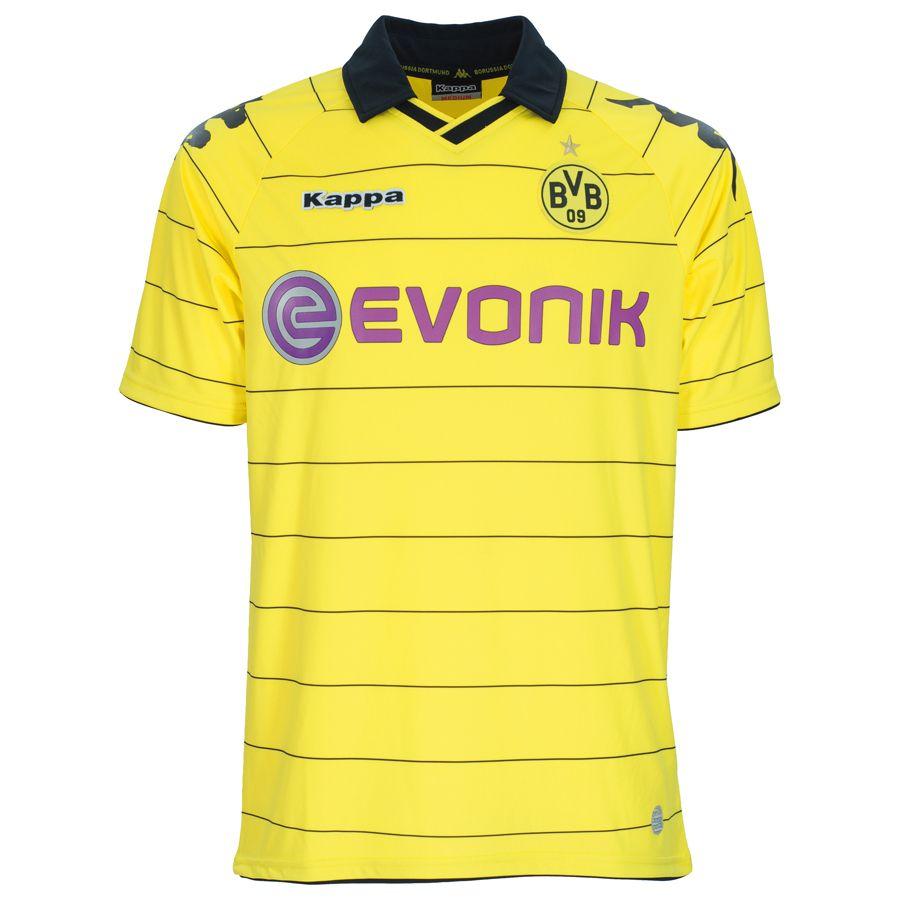BVB Borussia Dortmund (Germany) - 2010 2011 Kappa Home Shirt ... 00ebfeb88693a