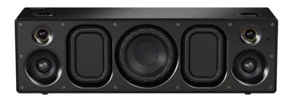 ソニーが、CES 2014 にてハイレゾ対応のワイヤレススピーカー SRS-X9 を発表しました。Bluetooth または AirPlay、DLNA によるワイヤレス再生が可能な2.1ch 一体型。ソニーでは、ハイレゾ対応のワイヤレススピーカーは「業界初」としています。