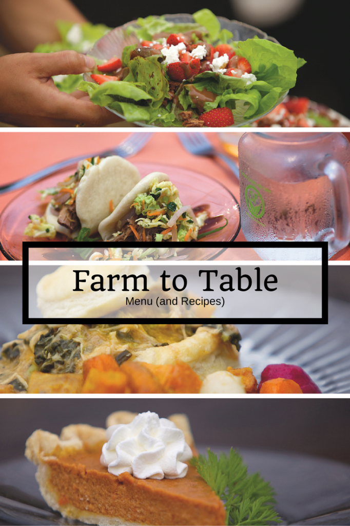 Farm To Table Menu And Recipes Farm Fresh Recipes Farmers