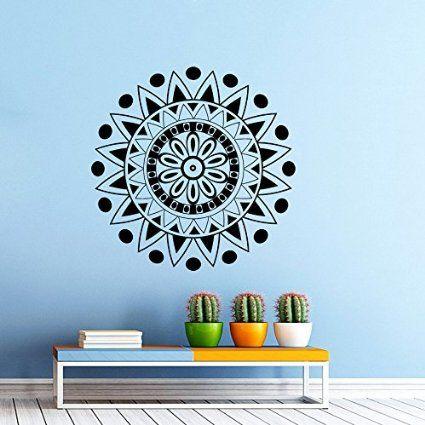 Indian diseño de Mandala para pared de diseño de phyllida coroneo