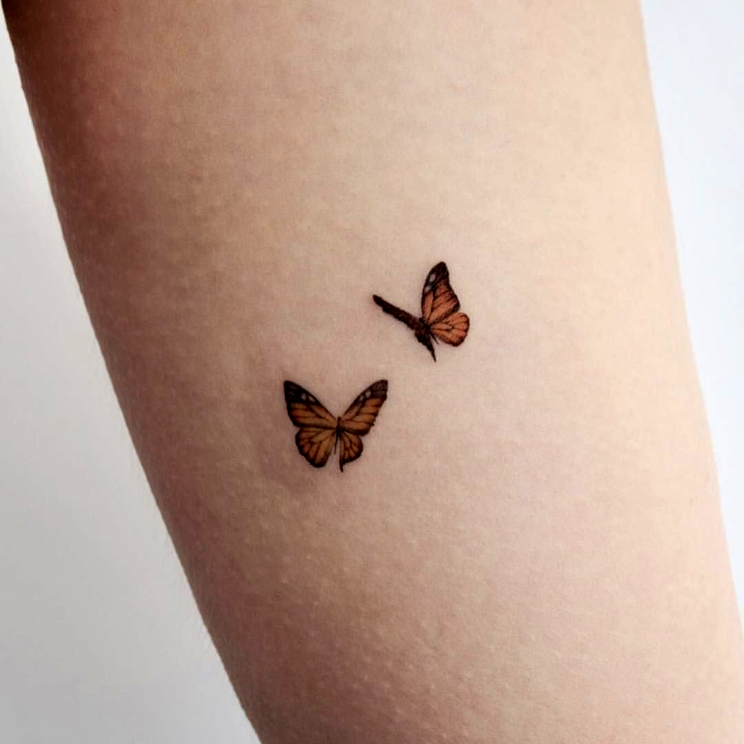 Photo of kleines Schmetterling Tattoo – Google Suche