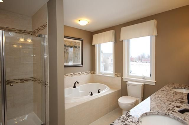 Dover 4 bedroom single family new home ottawa new homes for Bathroom design ottawa