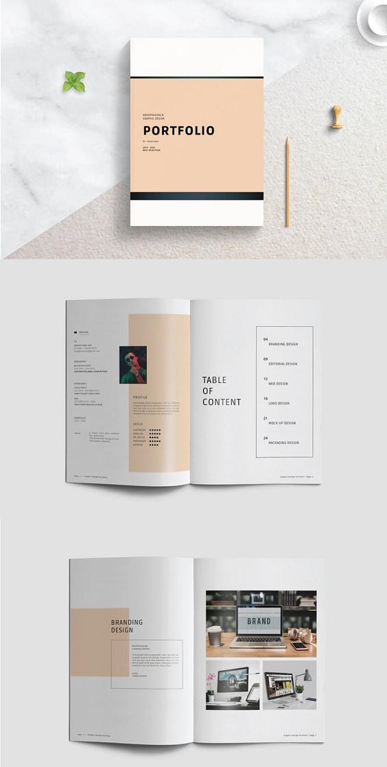 Portfolio Template In 2020 Portfolio Design Layout Pdf Portfolio Design Portfolio Templates
