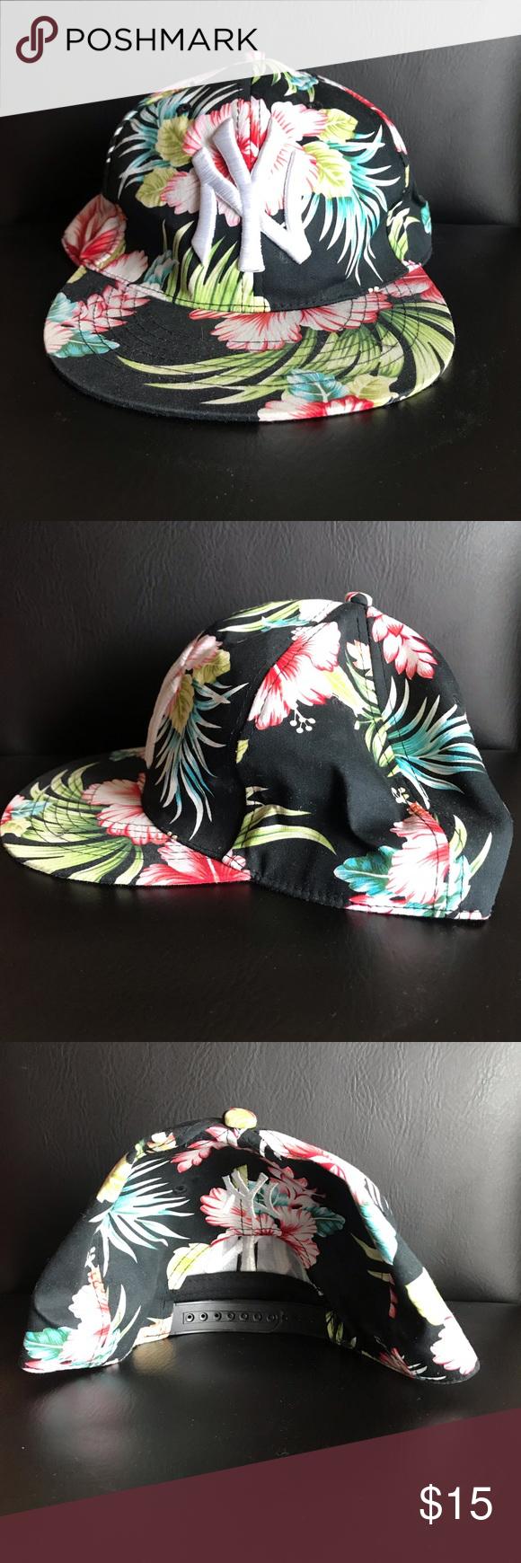 Hawaiian Yankees Hat Hawaiian Yankees Hat SnapBack Decent