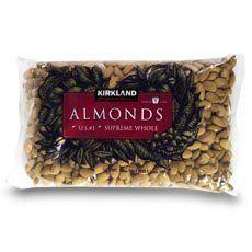 Kirkland Signature Supreme Whole Almonds 3 Lbs. - Supreme Whole Almonds Raw 3 lb bag - http://crazygoodcoffee.com/wp/?p=58