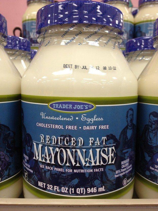 trader joes reduced fat mayo