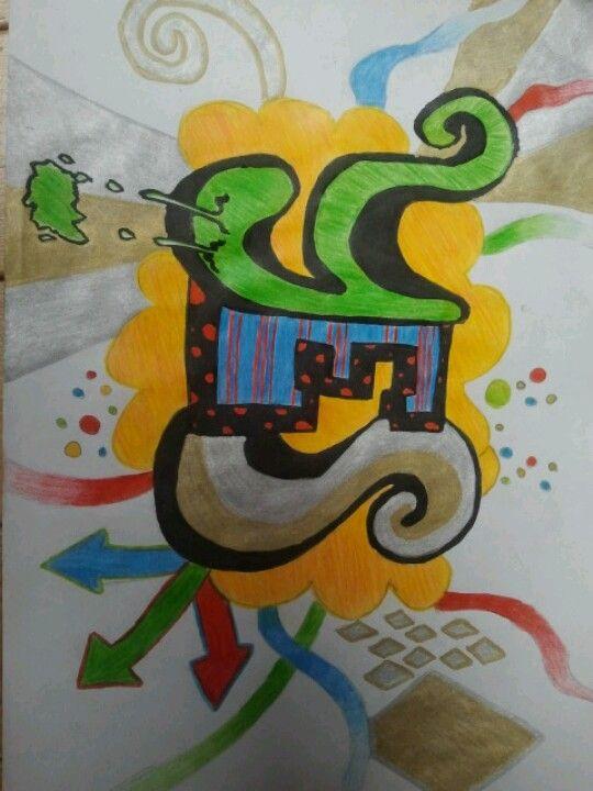 ik hou van graffiti tekenen | helemaal ik | pinterest