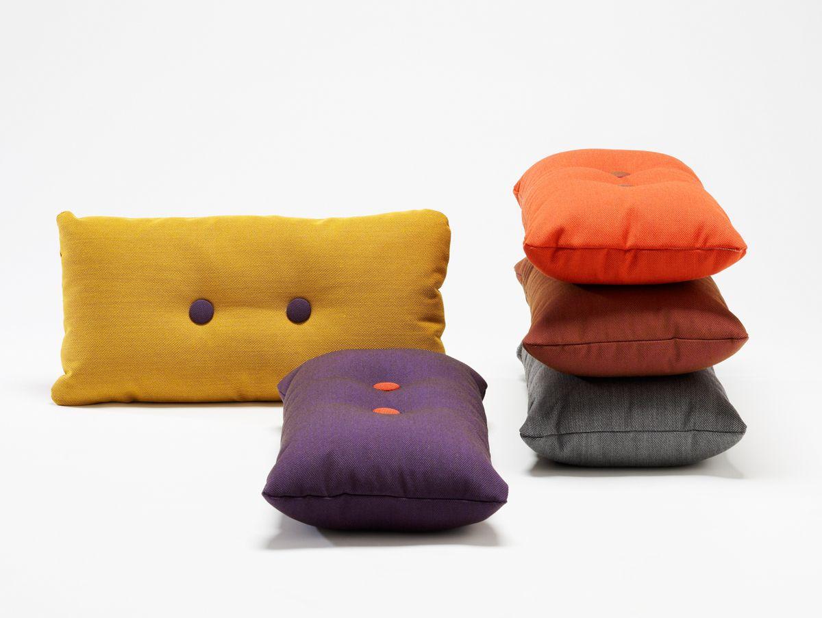 Hay dot kussen in verschillende kleuren gero wonen