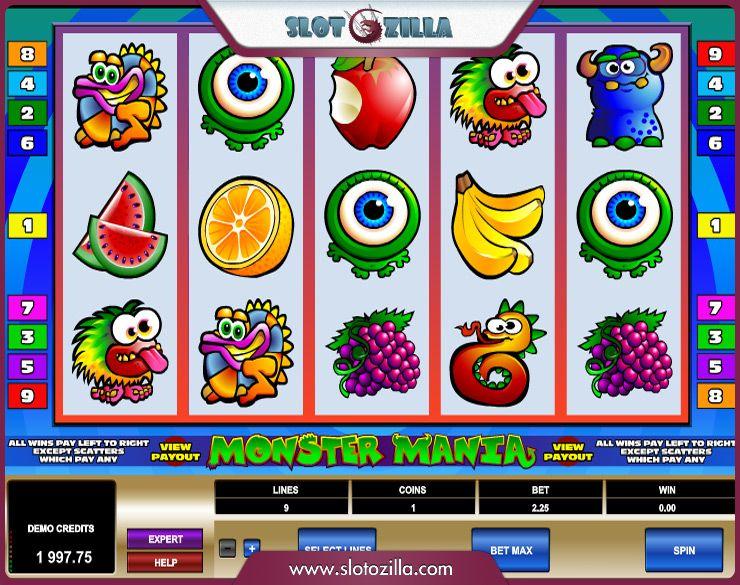 Monster Mania Slots