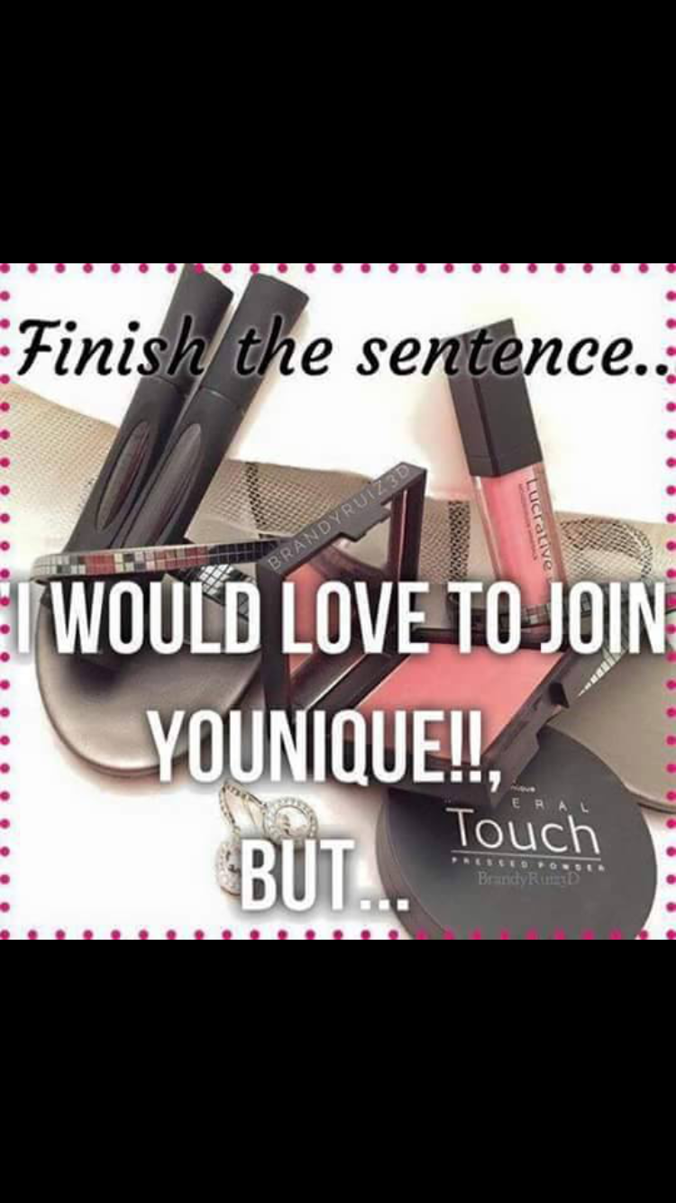 Join me. Younique cosmetics, Younique