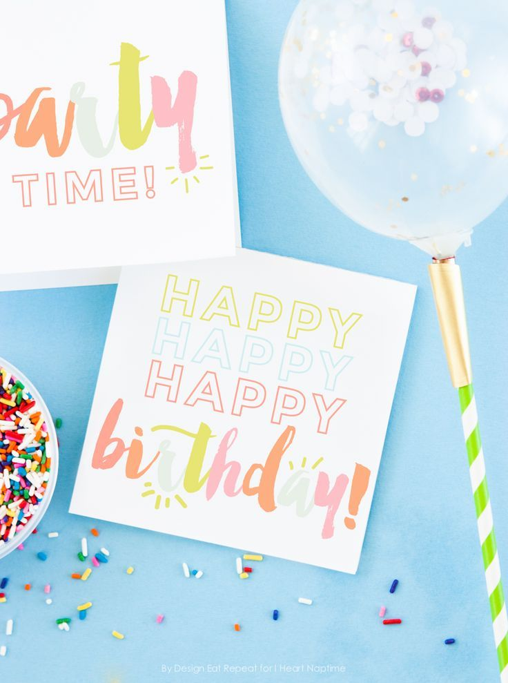 Free Printable Birthday Cards On Iheartnaptime