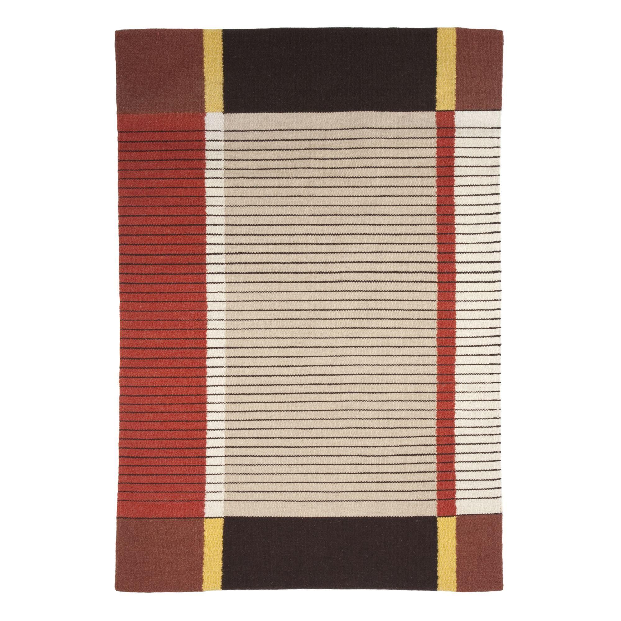 Tapis En Laine 120x180cm Tibet Kilim Tapis Textiles Tapis Salon