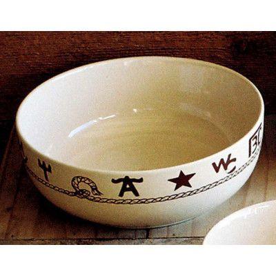 West Creation Branded Serving Bowl