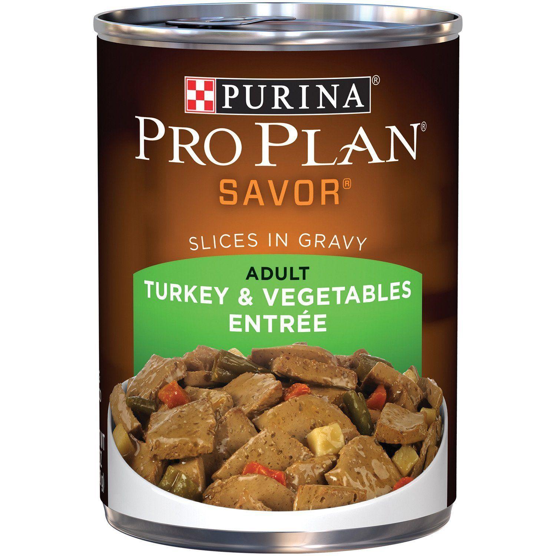 Purina Pro Plan Savor Wet Dog Food 12 13 Oz Cans Click Image