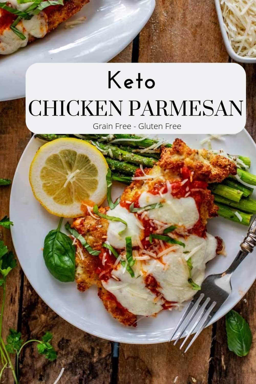Keto Chicken Parmesan Recipe Keto chicken, Food