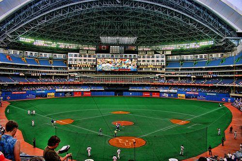 Sky Dome Baseball Park Mlb Stadiums Baseball Stadium