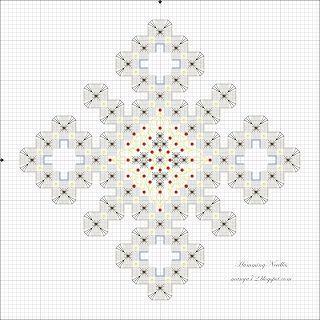 Aghi Humming: ornamento del fiocco di neve