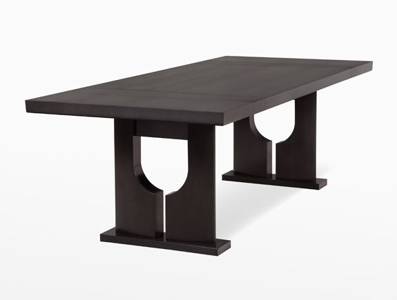 holly hunt easter island dining table