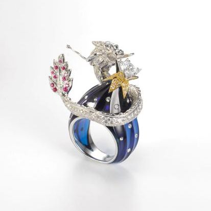 Student Group winners of the 13th Hong Kong Jewellery Design