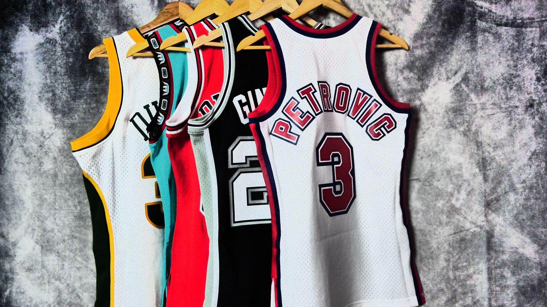 83cb6b6bfa1e Hardwood Classics. Camisetas retro NBA. Otoño 2018.  BasketspiritMadrid   Hardwoodclassics  drazenpetrovic