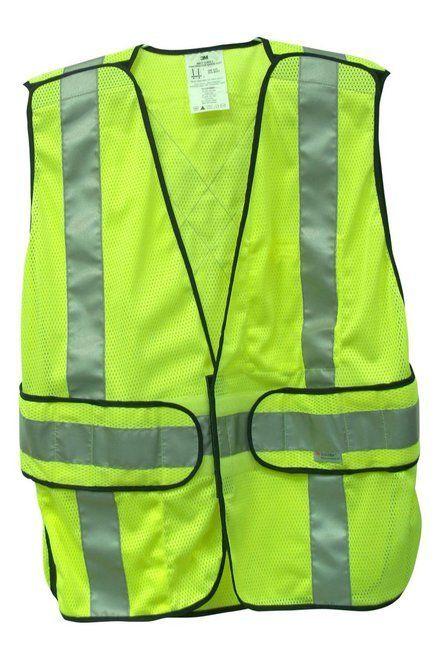3m 94617 80030t Hi Viz Construction Vest High Visibility