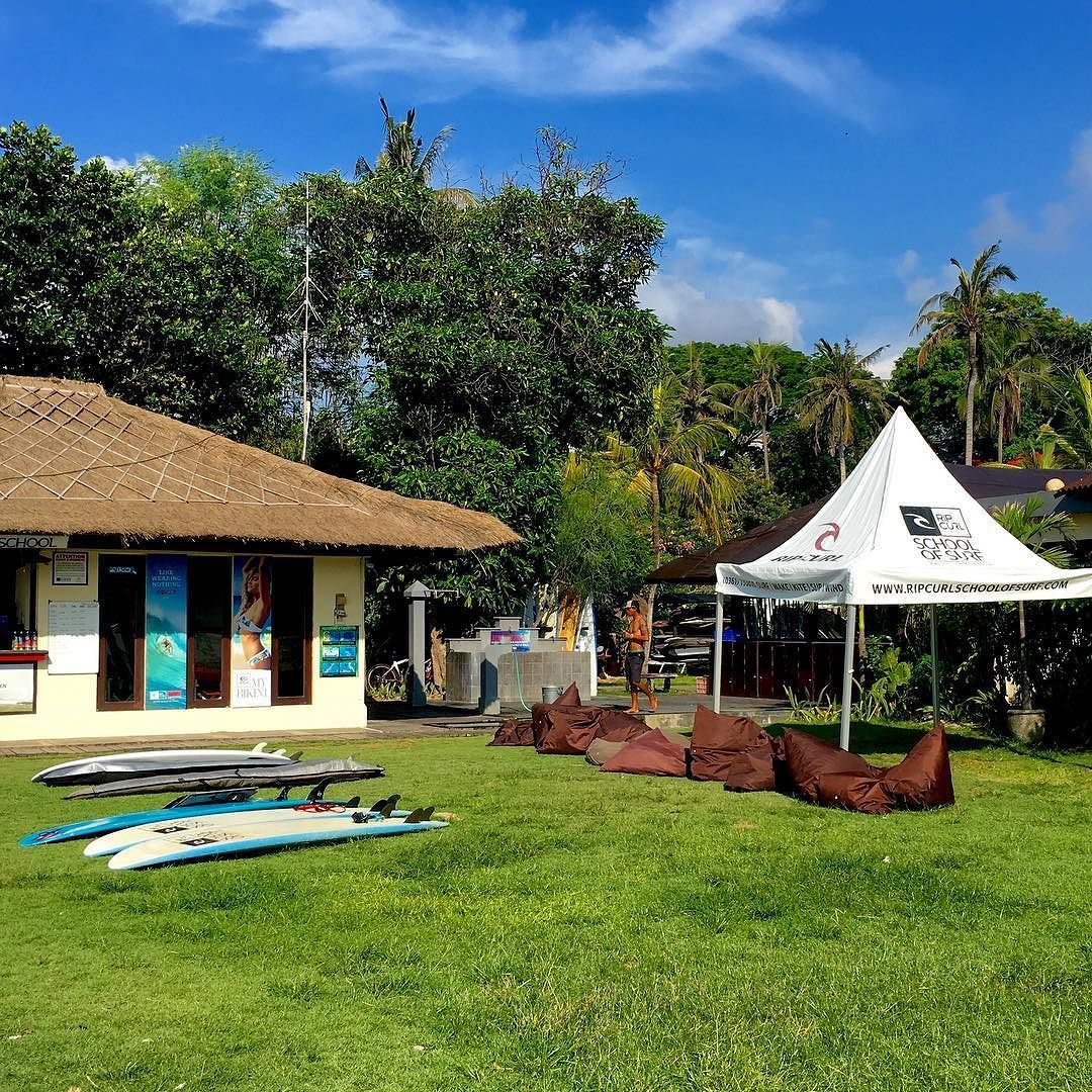 The Rip Curl School of Surf in Sanur is located on our