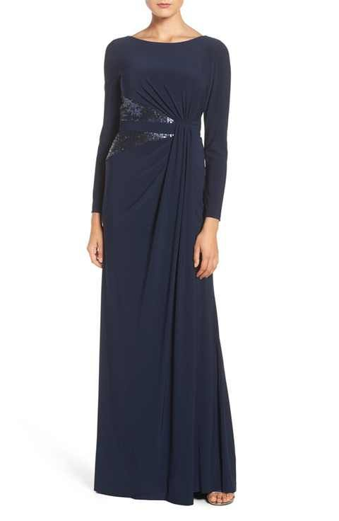 Adrianna Papell Sequin Jersey Gown  $170