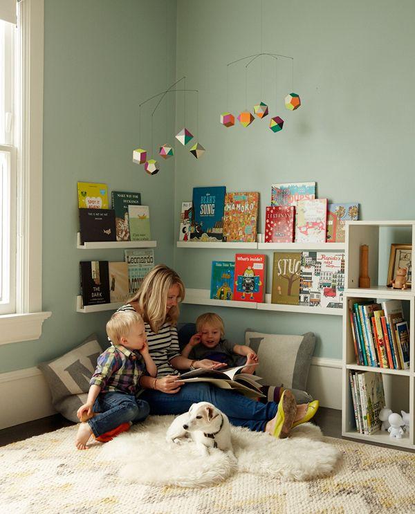Rincón de lectura Niños Pinterest Corner, Reading nooks and