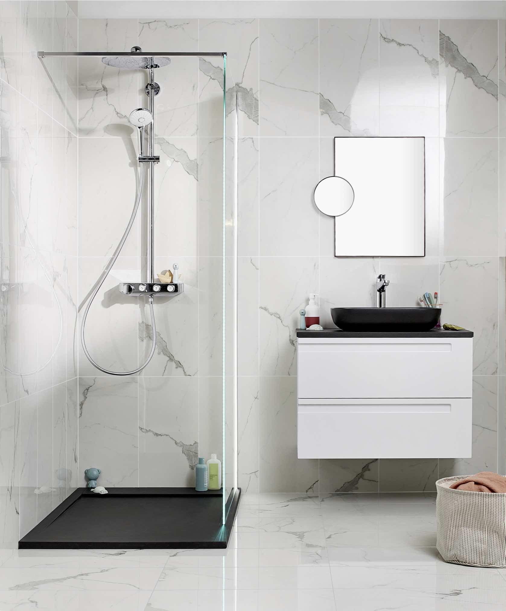 Miroir déco de salle de bains FORGE  Deco salle de bain, Miroir