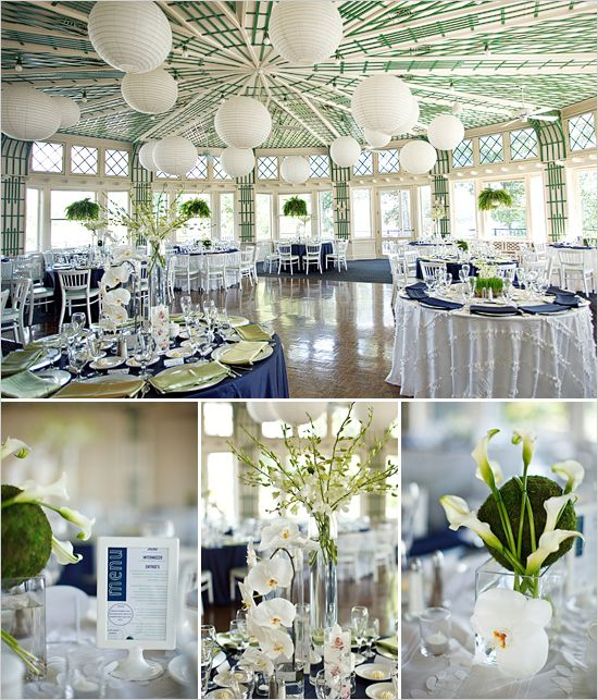 Blue Wedding Table Decorations: Green And Blue Wedding Ideas