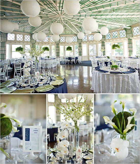 Green And Blue Wedding Ideas