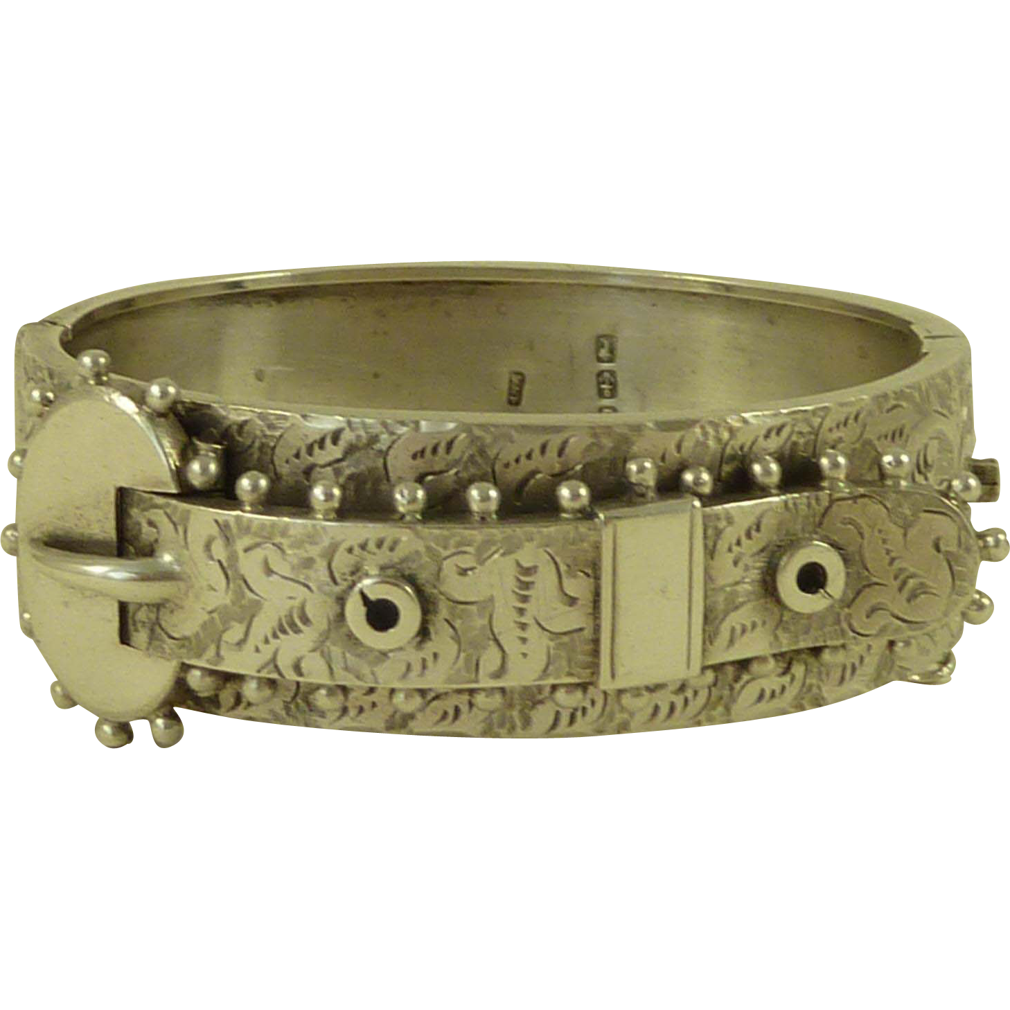 1882 English Victorian Hallmarked Solid Sterling Silver ...