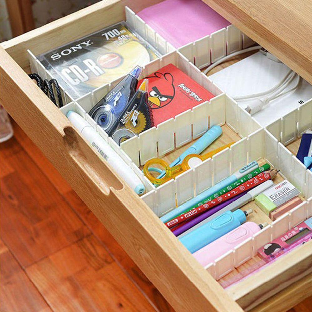 pcs adjustable clapboard drawer divider partition storage