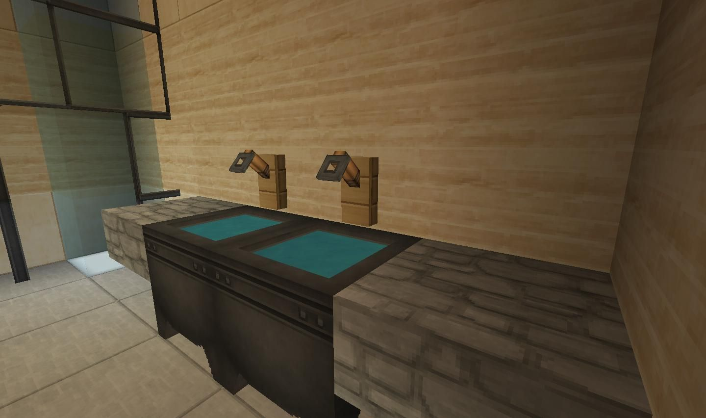 A Interesting Faucet Design Minecraft Furniture Minecraft