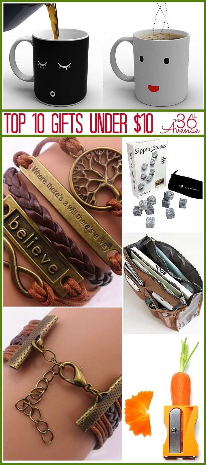 Top 10 GIFTS under $10 ...MUST SEE!