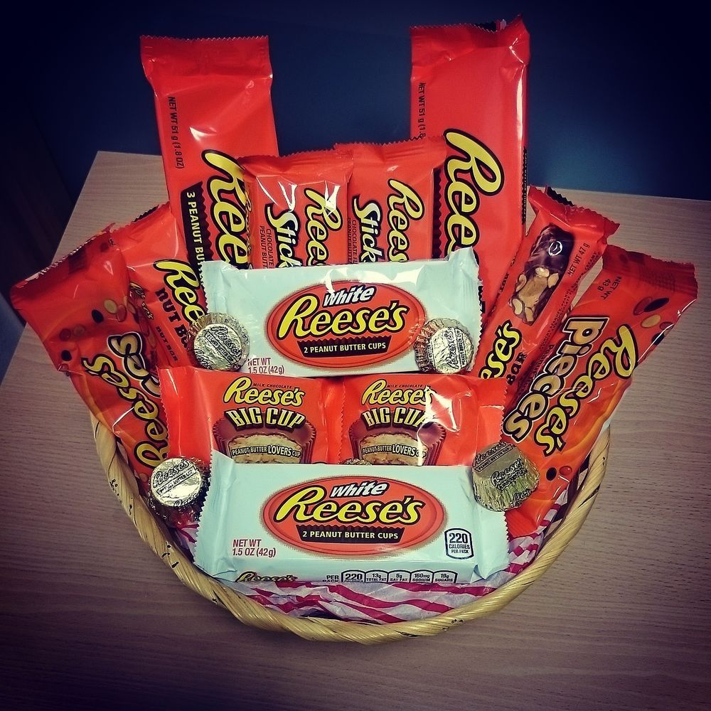 Hurry Only 9 Remaining Reese S Hamper Special Offer American Burnt Cinnamon Lemonhead Lip Smack Box Candy Discount Deal Gift Wrapped