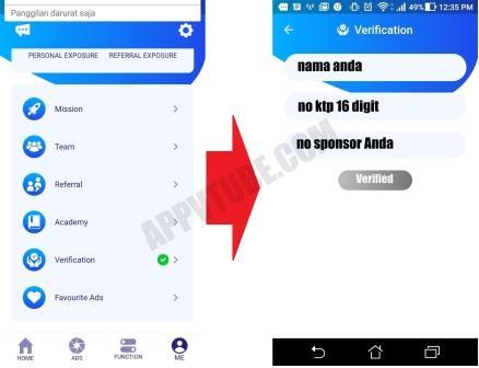 Cara Verifikasi Tube Apk Daftar Vtube Terbaru Aplikasi