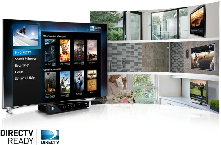 Ready Smart TVs act as virtual cable boxes. Directv