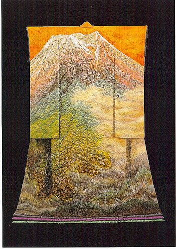 itchiku #5 by Arno Drucker | Mount Fuji kimono by Itchiku Kubota | Flickr - Photo Sharing!