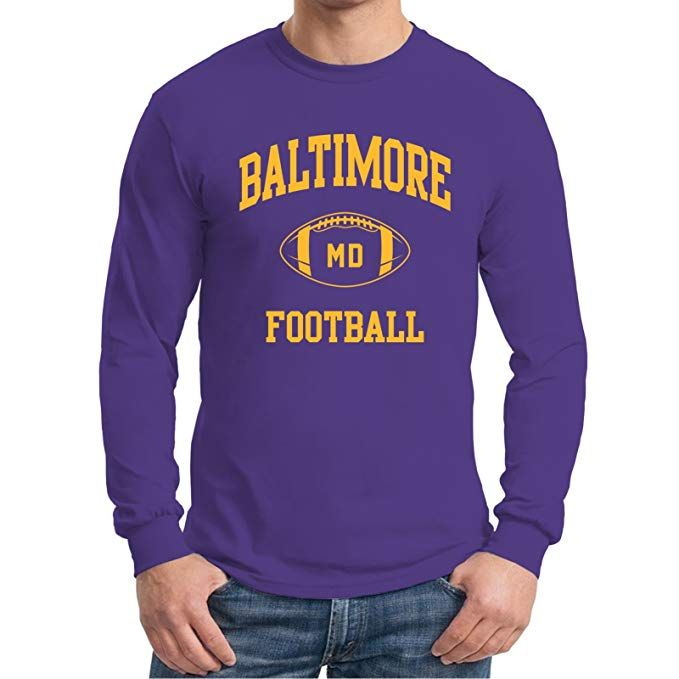 Amazon.com  UGP Campus Apparel City Classic Football Arch American Football  Team Long Sleeve 011a4cc99
