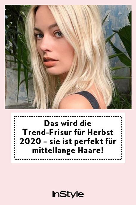 Das Wird Die Trend Frisur Fur Herbst 2020 Sie Ist Perfekt Fur Mittellange Haare In 2020 Mittellange Haare Frisuren Haare