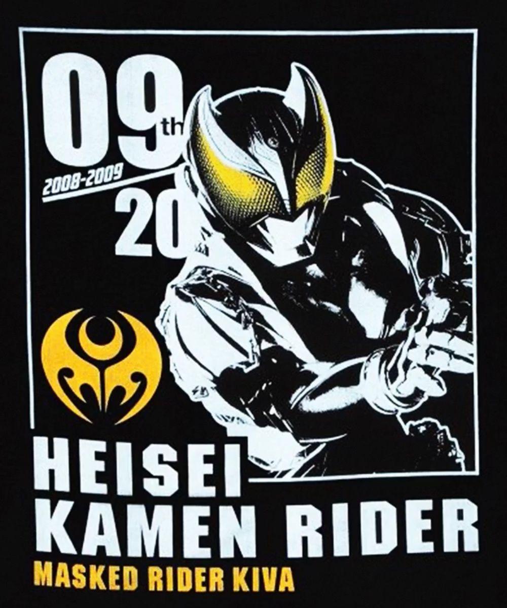 仮面ライダーキバ ポスターtシャツ kamen rider rider kamen rider series