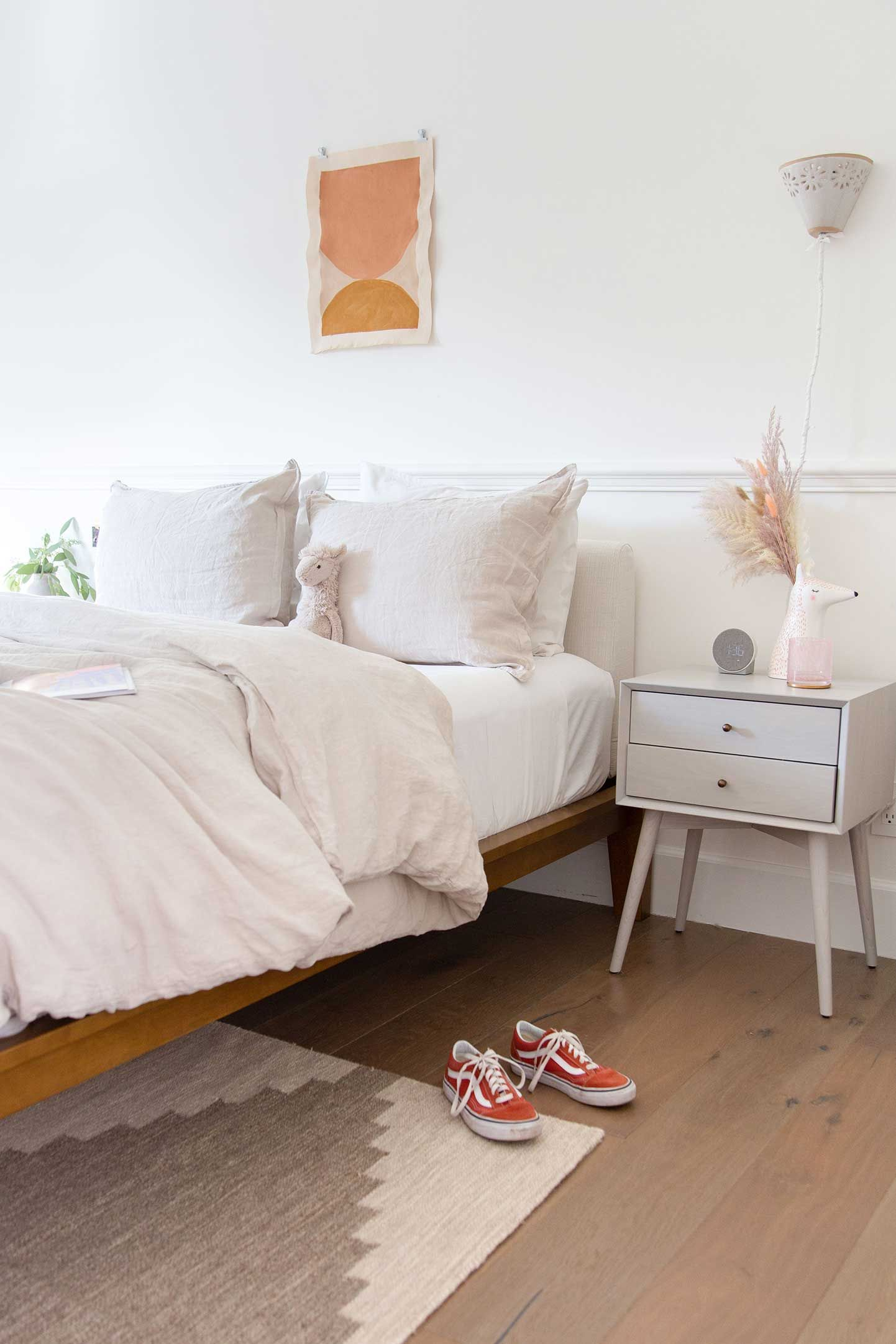 The Bed in 2021   Small room design, Simple bedroom, Minimalist bed