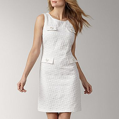 Adorable On Clearance At Jcp 20 Liz Claiborne Textured Sheath